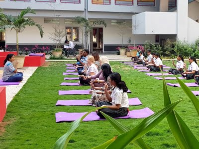 Silver Oaks International School Yoga Studio